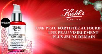 Échantillon gratuit du sérum pour le visage de Kiehl's