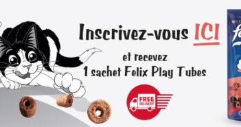 Échantillon gratuit snack pour chats Felix