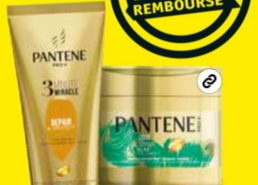 Après-shampooing ou masque Pantene 3 Minute Miracle 100% remboursé