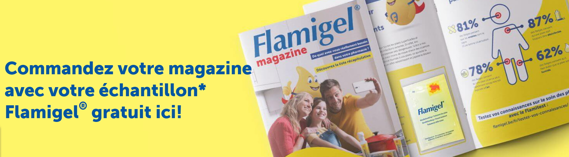 Échantillon gratuit de Flamigel