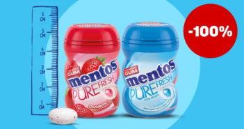Chewing-gum Mentos 100% remboursé avec myShopi