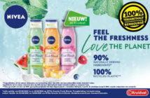 Gel douche Nivea Fresh Blends 100% remboursé chez Kruidvat