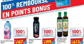 Produits 100% remboursé chez Carrefour le 6 août 2020