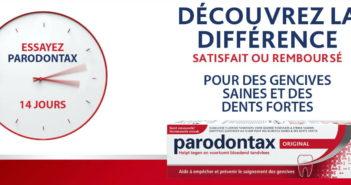 Dentifrice Parodontax 100% remboursé