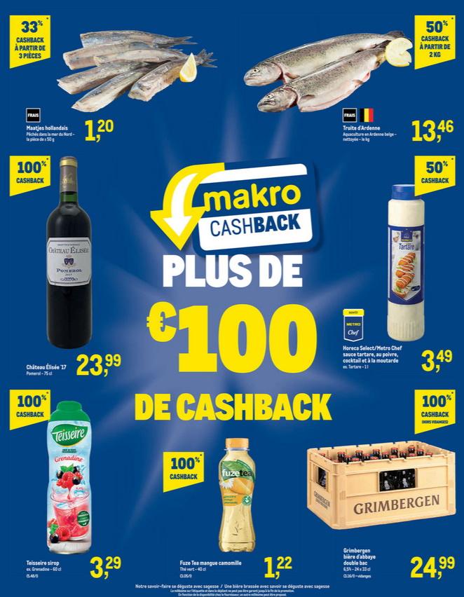 Produits remboursés chez Makro