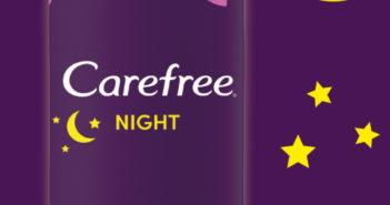 Protège-slips Carefree Night 100% remboursé chez Kruidvat