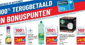 Produits 100% remboursé chez Carrefour le 10 septembre 2020