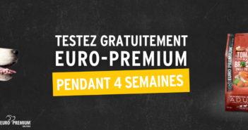 Test gratuit alimentation pour chiens Euro Premium avec Dogofriends