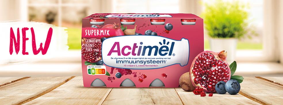 Actimel Supermix Grenade 100% remboursé