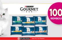 Aliments pour chats Purina Perle 100% remboursé avec myShopi