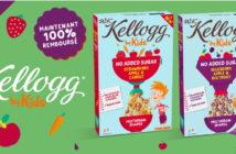 Céréales W.K Kellogg 100% remboursé avec myShopi