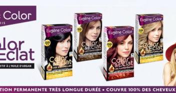 Coloration cheveux Eugène Color 100% remboursé