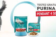 Test gratuit alimentation pour chats Purina One avec Dogofriends