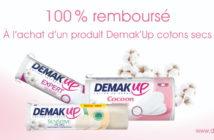 Cotons démaquillants Demak Up 100% remboursé avec myShopi
