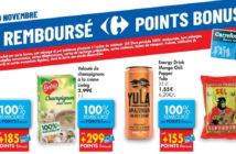 Produits 100% remboursé chez Carrefour le 19 novembre 2020