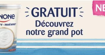 Yaourt Danone 100% remboursé