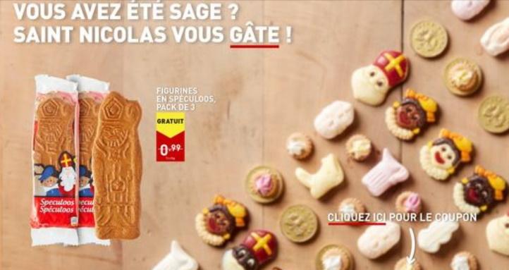 Biscuits spéculoos gratuits chez Aldi