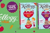 Céréales Kellogg Kids 100% remboursé sur myShopi