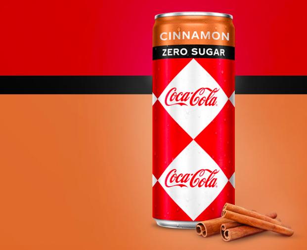 Coca-Cola Zero Cinnamon 100% remboursé