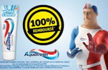 Dentifrice Aquafresh 100% remboursé chez Kruidvat