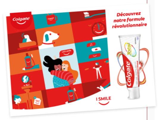 Échantillon dentifrice Colgate gratuit