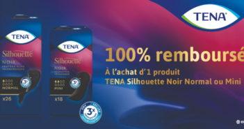 Protège-slips Tena noir 100% remboursé avec myShopi