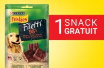 Snack Purina Friskies gratuit pour chien