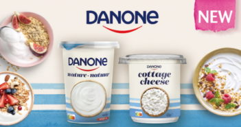 Yaourt ou Cottage Cheese Danone 100% remboursé