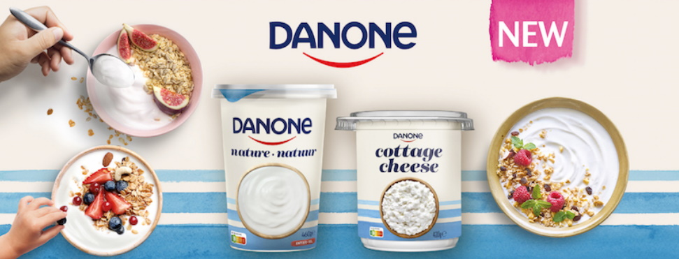 Yaourt ou Cottage Cheese Danone 100% remboursé
