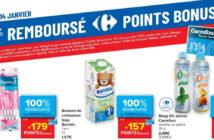 Produits 100% remboursé chez Carrefour le 14 janvier 2021