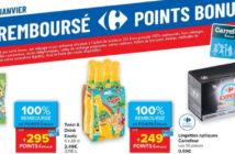 Produits 100% remboursé chez Carrefour le 28 janvier 2021