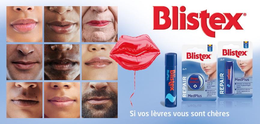 Baume à lèvres Blistex 100% remboursé avec myShopi