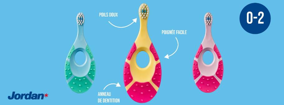 Brosse à dents pour enfants Jordan 100% remboursé