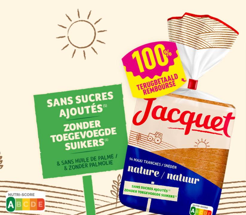Pain Jacquet 100% remboursé