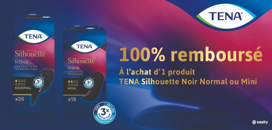 Protection hygiénique Tena 100% remboursé avec myShopi