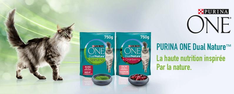 Échantillon gratuit nourriture pour chats Purina One