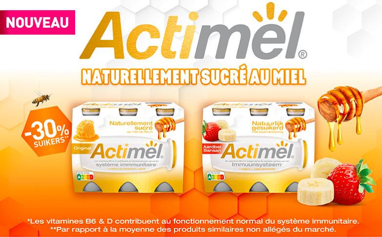 Yaourt à boire Actimel au miel 100% remboursé