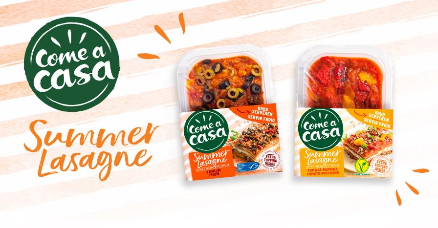Summer lasagne Come a casa 100% remboursé