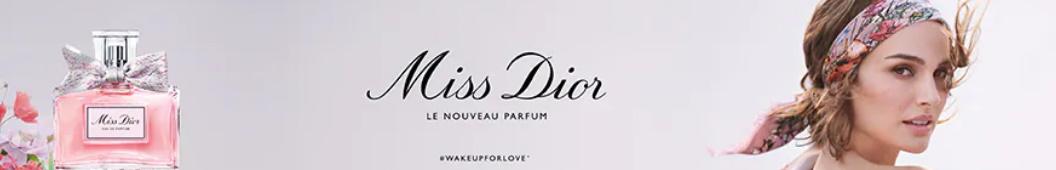 Échantillon gratuit du parfum Miss Dior